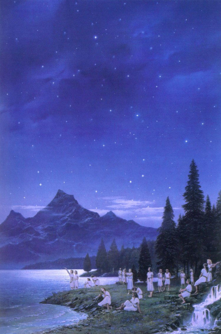 Ted Nasmith Elven Awakening Cuivienen Silmarillion